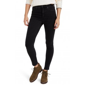 10-Inch High Waist Ankle Skinny Jeans