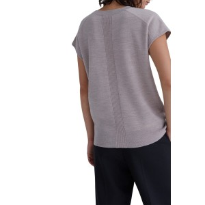 Sleeveless Doublefaced Wool Sweater