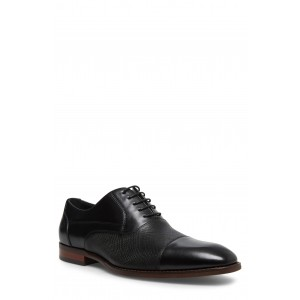Proctor Textured Leather Cap Toe Derby