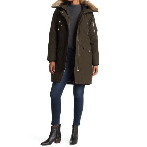 Missy Faux Fur Down Fill Anorak
