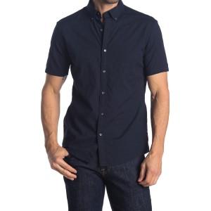 Solid Short Sleeve Regular Fit Shirt
