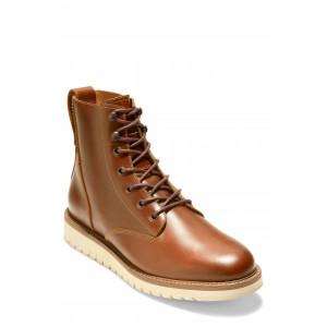 ZERØGRAND Waterproof Plain Toe Boot