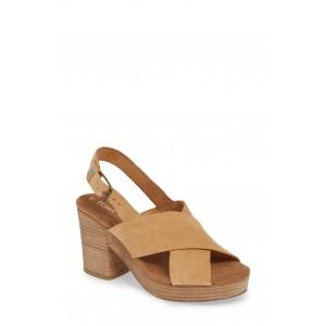 Ibiza Platform Slingback Sandal
