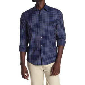 Brady Gingham Check Slim Fit Shirt