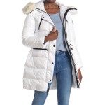 Faux Fur Trimmed Puffer Jacket