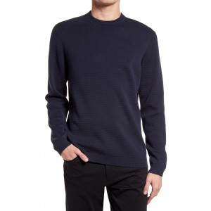 Stone Crewneck Cotton Sweater