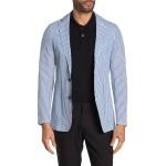 Sepentine Blue Striped Sport Coat