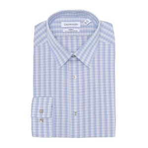 Plaid Print Slim Fit Dress Shirt