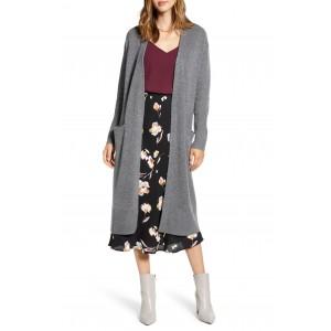 Wool & Cashmere Long Cardigan