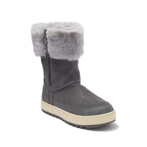 Tynlee Suede & Faux Fur Boot