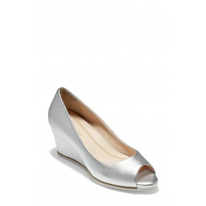 Grand Ambition Open Toe Wedge