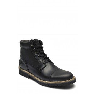 Marshall Leather Cap Toe Boot - Wide Width Available