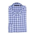 Gingham Slim Fit Stretch Dress Shirt
