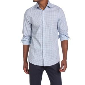 Mini Check Print Regular Fit Shirt
