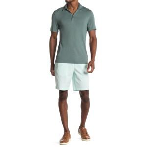 Washed Semi-Stretch Cotton Shorts
