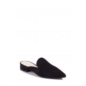 Piper Suede Loafer Mule