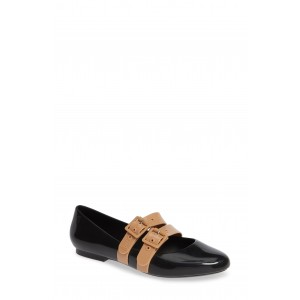 Double Buckle Patent Flat