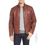 Signature Washed Leather Jacket