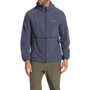 Urban Commuter Hooded Front Zip Jacket