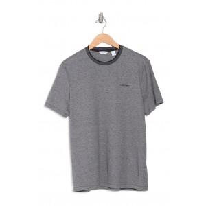 Short Sleeve Marl Twist Crew T-Shirt