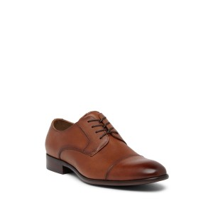 Knaggs Cap Toe Leather Derby