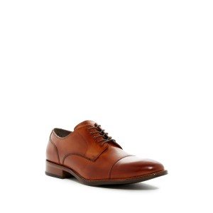 Benton Leather Cap Toe Derby II - Wide Width Available