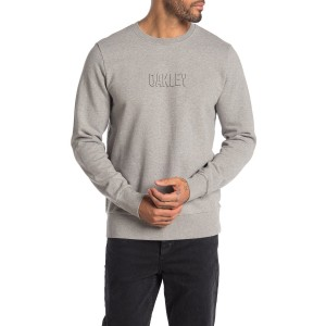 Crew Neck Front Logo Pullover