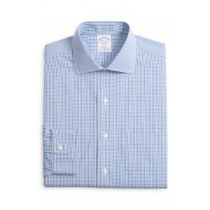 Regular Fit Plaid Dress Shirt