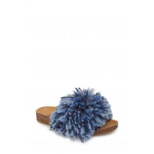 Cindi Yarn Pom Sandal