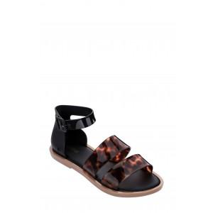 Two-Tone Strap Sandal