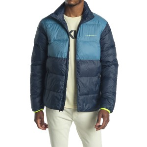 Colorblock Insulated Puffer Jacket