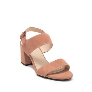 Avani City Suede Block Heel Sandal