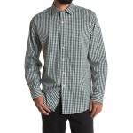Spread Collar Long Sleeve Sport Shirt