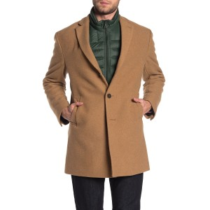 Camel Wool Blend Coat