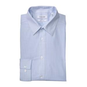 Slim Fit Long Sleeve Water Mill Dress Shirt