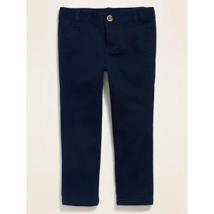 Uniform Skinny Twill Pants for Toddler Girls