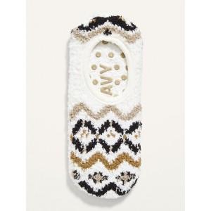 Cozy Gripper Sneaker Socks for Women