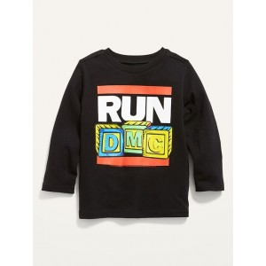 Unisex RUN DMC&#169 Graphic Long-Sleeve Tee for Toddler