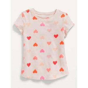 Unisex Printed Short-Sleeve T-Shirt for Toddler