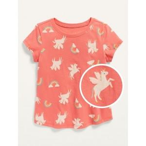 Unisex Short-Sleeve Printed T-Shirt for Toddler