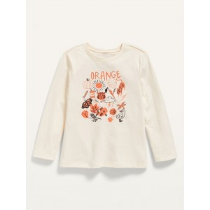 Unisex Long-Sleeve Graphic T-Shirt for Toddler