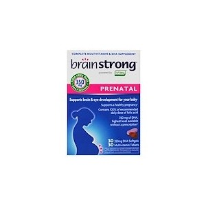 BrainStrong Prenatal 30 Softgels 30 Tablets