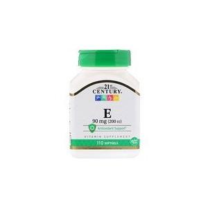 21st Century E 90 mg (200 IU) 110 Softgels