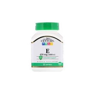21st Century E 450 mg (1000 IU) 55 Softgels