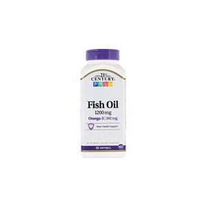 21st Century Fish Oil 1200 mg 90 Softgels