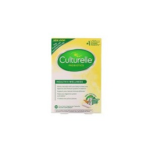 Culturelle Health & Wellness Probiotic 30 Vegetarian Capsules