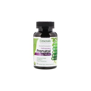 Emerald Laboratories CoEnzymated Prenatal 1-Daily Multi 30 Vegetable Caps