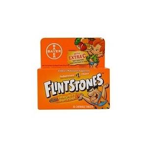 Flintstones Childrens Multivitamin Plus Immune Support Fruit Flavors 60 Chewable Tablets