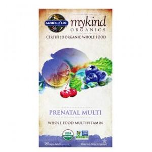 Garden of Life, MyKind Organics, Prenatal Multi, 180 Vegan Tablets
