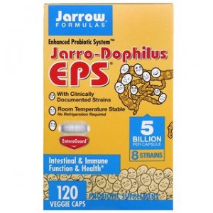 Jarrow Formulas Jarro-Dophilus EPS 5 Billion 120 Veggie Caps